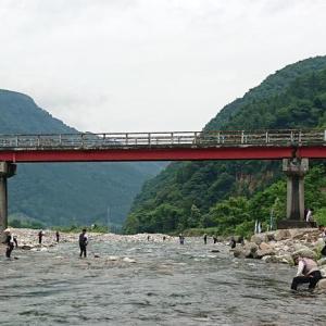 越後湯沢魚野川、解禁釣行