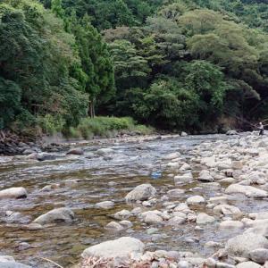プチ遠征で仁科川へ