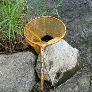 鮎タモ、龍神さんに水を飲ませに