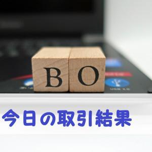 【BO】7月7日と8日の取引結果
