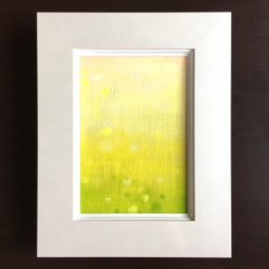 娘の魂の油絵♪「若い緑」