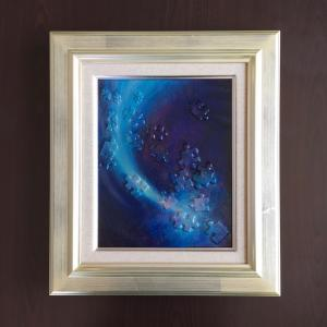 その11♪「星のかけらⅡ」個展に展示予定の油絵をご紹介〜!!