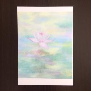 複製画が完成しました〜睡蓮の油絵「夢としりせば」