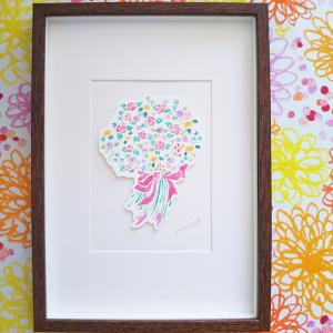 【ご自宅を彩り華やぐ素敵な空間に。】真っ白な壁に、絵を飾ろう。