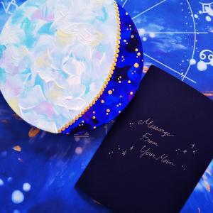 結婚記念日と、命日と。次男の生まれた日の月からのメッセージ。