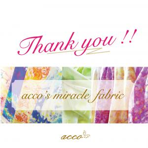 【ありがとうございました^^】ミラクルファブリック公開販売修了しました!