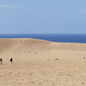 気分転換に鳥取砂丘