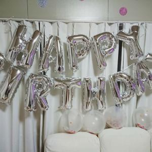 今日は誕生日