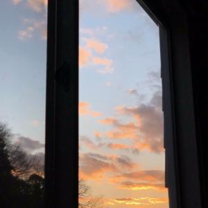 夕景が見える部屋