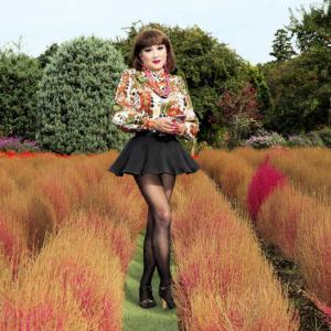 花ファンタジアにコキアを見に行く