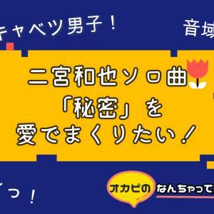 二宮和也ソロ曲「秘密」の魅力は【ロールキャベツ男子っぷり】にあり!【ミュージックラボ】