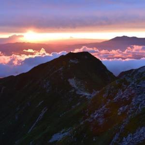 木曽駒ケ岳で秋のテント泊