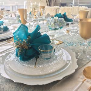 前編・持ち寄りポットラック女子会…White&Turquoiseテーブル