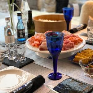 コロナライフ①後編…手巻き寿司テーブル