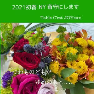 2021初春のお知らせ…再び日本へ
