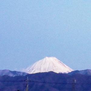 16日の富士山