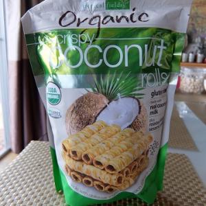 Costco ☆ Organic Coconut Rolls