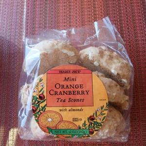 トレーダージョーズ☆ Orange Cranberry Tea Scones☆