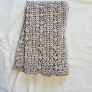 かぎ針編みのマーガレット 完成着画