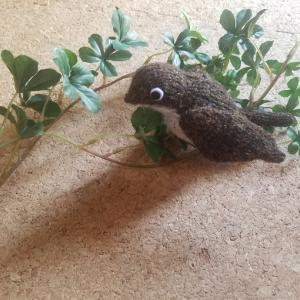 シェットランド糸でsongbird