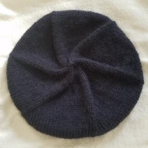 ローワンのベレー帽完成