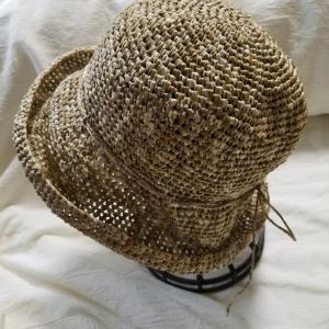 リーフィーの夏帽子完成。