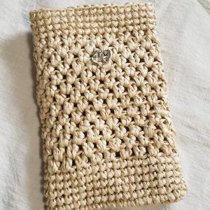 細編みの美しい編み方。斜行しない方法