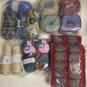 8月の購入・消費毛糸
