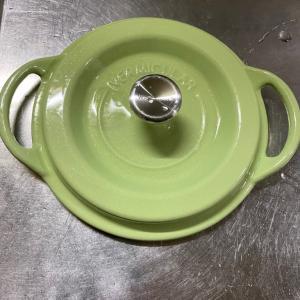 ベタついた鍋をスッキリさせました