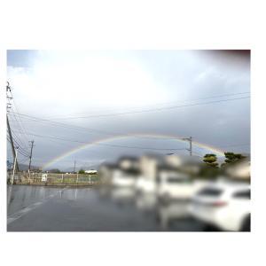 虹#虹#あめのちはれ #綺麗 #一瞬