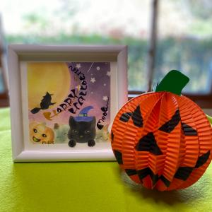 happy Halloween#猫 #ハロウィン #かぼちゃ#パステル和アート ...