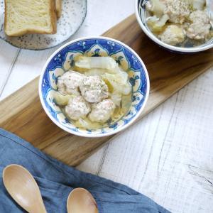 シンプル!簡単!なのに旨味たっぷり【鶏エビ団子と白菜のスープ】