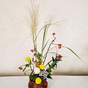 中秋の名月・十五夜のお月見にお花をいけませんか~