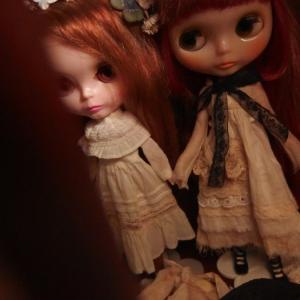 日記、人形、ブライス