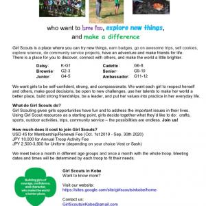 Workshop for Girl Scout leaders