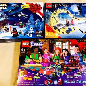 気が早いけど、LEGOのアドベントカレンダー!