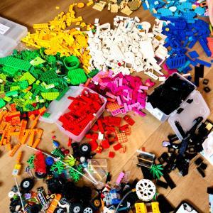 重い腰をあげて息子と【LEGO収納と定位置作り】