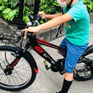 【小1長男】新調した自転車、手放した電動自転車。