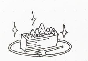 福岡で絶品のケーキ!