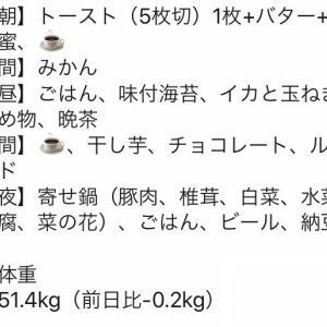 2020.01.22 食事記録