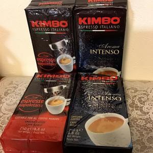 KIMBO(キンボ) エスプレッソ粉 2種(ドリップ・エスプレッソマシン用)
