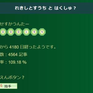 【ブログ】祝☆100万PV到達!(待望のミリオンヒット達成!?・・・ヒットしてないので単なるミリオン?)