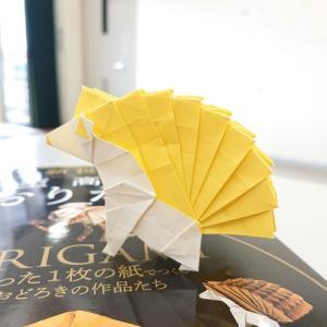 折り紙作品:ハリネズミ