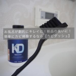 お風呂のカビ取り掃除方法なら「カビダッシュ」高レビューで試したら劇的効果あり!