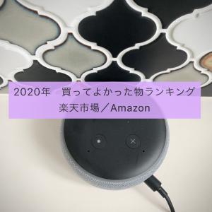 2020年上半期 買ってよかった物ランキング/楽天市場とAmazon