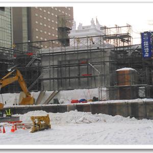 雪まつりの準備!1月23〜24日