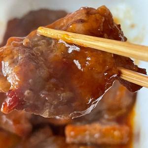 セブンレイブン 「うま辛たれの厚切り牛カルビ」 レンジで簡単韓国風料理