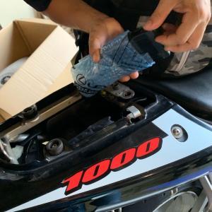 バイク用 ETC車載器!