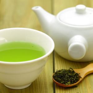食後の緑茶で痩せる