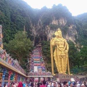 子連れでマレーシア クアラルンプール5泊6日の旅⑦〜バトゥ洞窟に行ってきました!〜